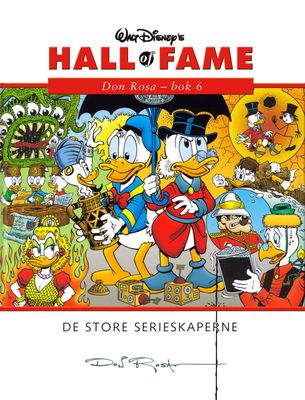 Hall of Fame 22 - Don Rosa 6 (Norge)