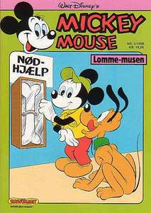 1 - Mickey Mouse (Lomme-musen) 1988 (1)