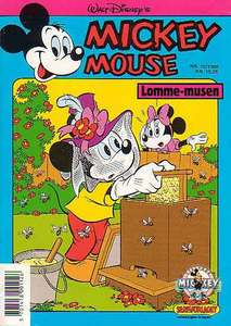 1 - Mickey Mouse (Lomme-musen) 1988 (10)