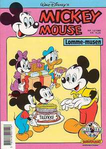 1 - Mickey Mouse (Lomme-musen) 1988 (12)
