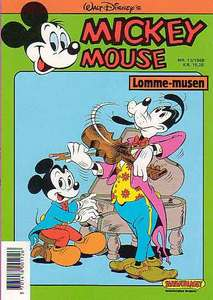 1 - Mickey Mouse (Lomme-musen) 1988 (13)