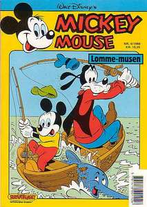 1 - Mickey Mouse (Lomme-musen) 1988 (4)