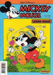 1 - Mickey Mouse (Lomme-musen) 1988 (5)