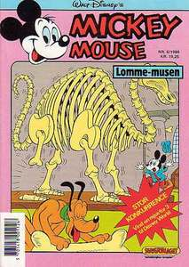 1 - Mickey Mouse (Lomme-musen) 1988 (6)