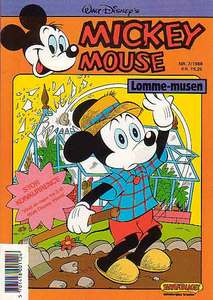 1 - Mickey Mouse (Lomme-musen) 1988 (7)