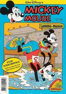 1 - Mickey Mouse (Lomme-musen) 1988 (8)