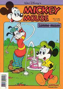 1 - Mickey Mouse (Lomme-musen) 1988 (9)