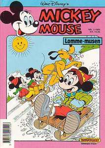 1 - Mickey Mouse (Lomme-musen) 1989 (1)