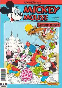 1 - Mickey Mouse (Lomme-musen) 1989 (13)