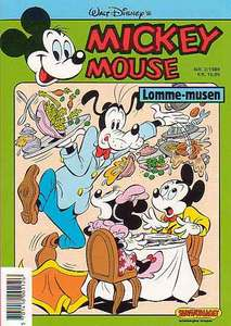 1 - Mickey Mouse (Lomme-musen) 1989 (2)