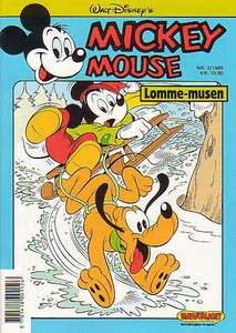 1 - Mickey Mouse (Lomme-musen) 1989 (3)