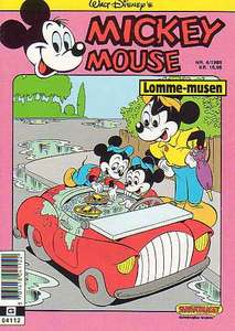 1 - Mickey Mouse (Lomme-musen) 1989 (4)
