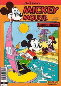 1 - Mickey Mouse (Lomme-musen) 1989 (6)