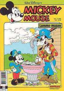 1 - Mickey Mouse (Lomme-musen) 1989 (7)