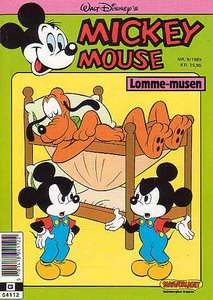 1 - Mickey Mouse (Lomme-musen) 1989 (9)
