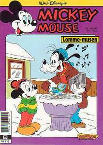 1 - Mickey Mouse (Lomme-musen) 1990 (1)