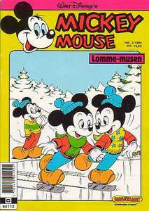 1 - Mickey Mouse (Lomme-musen) 1990 (2)