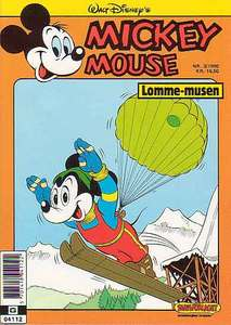 1 - Mickey Mouse (Lomme-musen) 1990 (3)