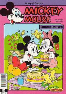 1 - Mickey Mouse (Lomme-musen) 1990 (6)