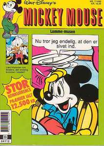 1 - Mickey Mouse (Lomme-musen) 1990 (7)