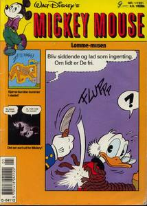 1 - Mickey Mouse (Lomme-musen) 1991 (1)
