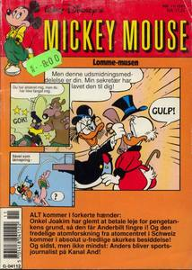 1 - Mickey Mouse (Lomme-musen) 1991 (11)