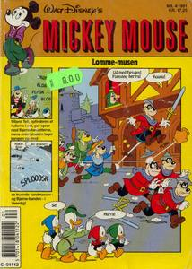 1 - Mickey Mouse (Lomme-musen) 1991 (4)