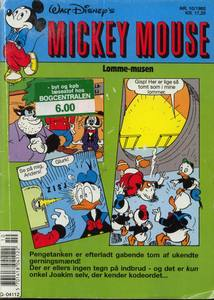 1 - Mickey Mouse (Lomme-musen) 1992 (10)