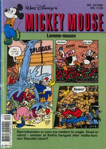 1 - Mickey Mouse (Lomme-musen) 1992 (12)