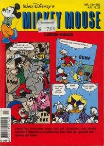 1 - Mickey Mouse (Lomme-musen) 1992 (13)