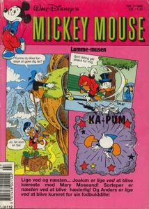1 - Mickey Mouse (Lomme-musen) 1992 (7)