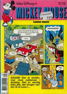 1 - Mickey Mouse (Lomme-musen) 1992 (9)