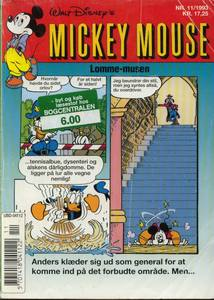 1 - Mickey Mouse (Lomme-musen) 1993 (11)