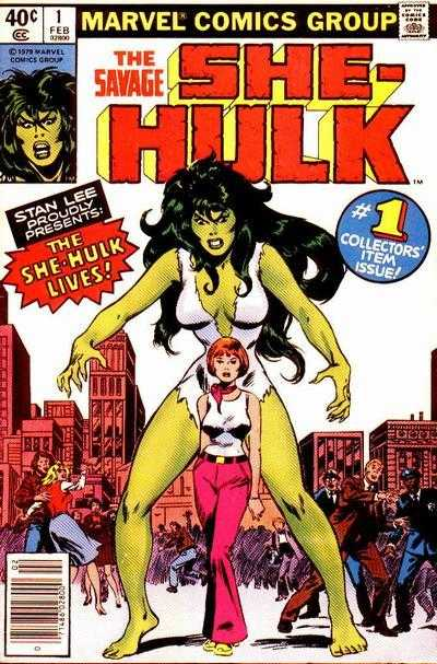 The Savage She-Hulk - 1