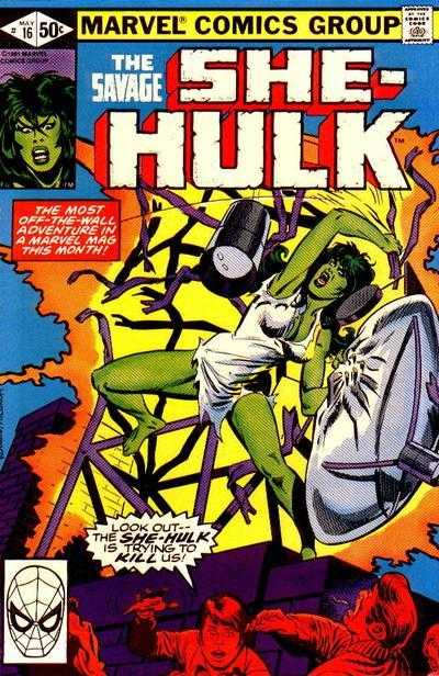 The Savage She-Hulk - 16