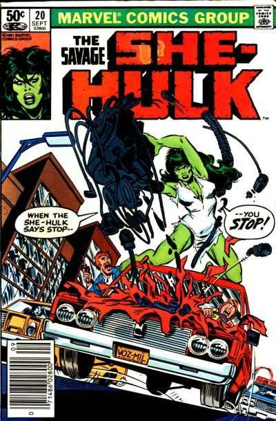 The Savage She-Hulk - 20