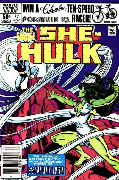 The Savage She-Hulk - 22