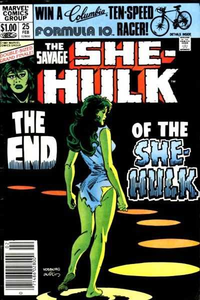 The Savage She-Hulk - 25