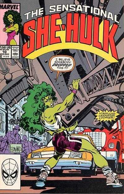 The Sensational She-Hulk - 10 (1989)
