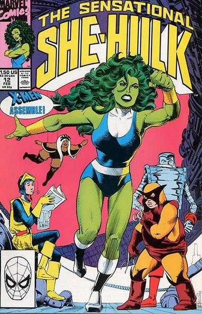 The Sensational She-Hulk - 12 (1990)