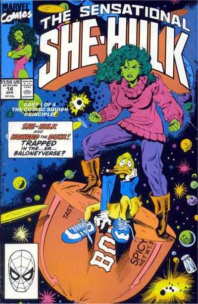 The Sensational She-Hulk - 14 (1990)