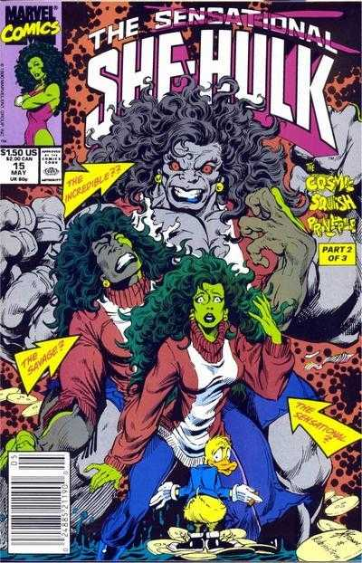 The Sensational She-Hulk - 15 (1990)
