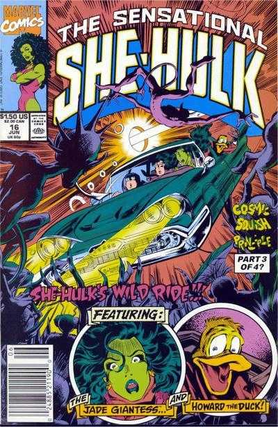 The Sensational She-Hulk - 16 (1990)