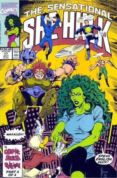 The Sensational She-Hulk - 17 (1990)