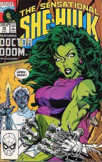 The Sensational She-Hulk - 18 (1990)