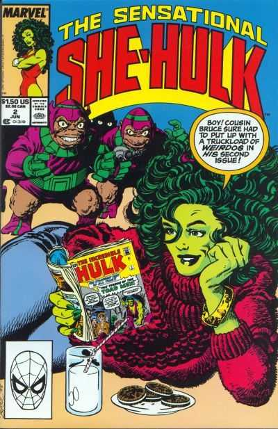 The Sensational She-Hulk - 2 (1989)