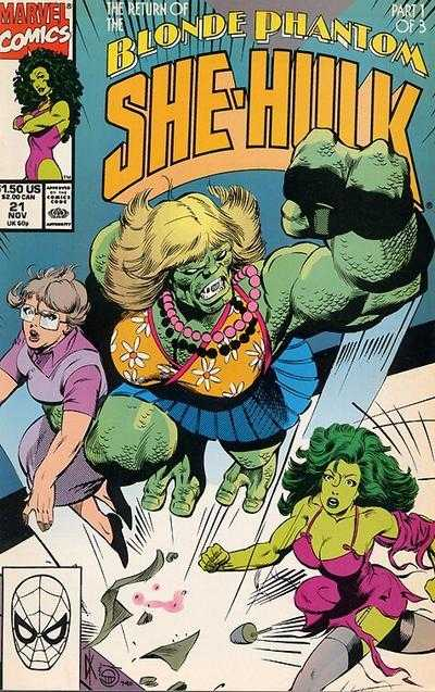 The Sensational She-Hulk - 21 (1990)