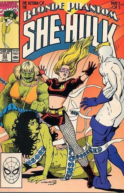 The Sensational She-Hulk - 23 (1991)