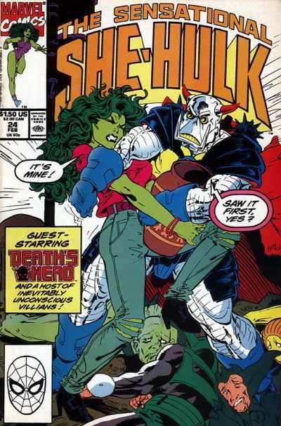 The Sensational She-Hulk - 24 (1991)