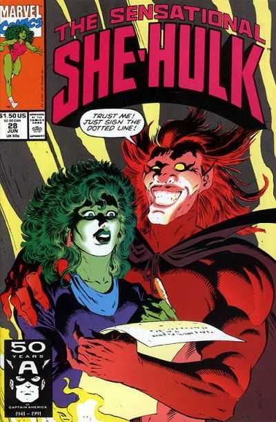 The Sensational She-Hulk - 28 (1991)